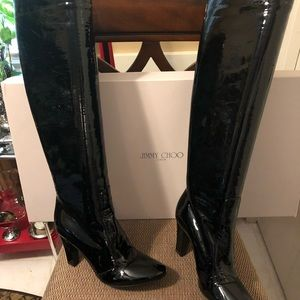 Jimmy Choo Knee high boots NWOT SIZE 7 AUTHENTIC